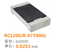 RC1206JR-07390KL