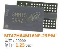 MT47H64M16NF-25E:M